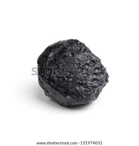Tektite Meteorite - stock photo