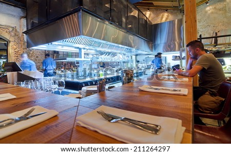 Restaurant Open Kitchen open kitchen bar and restaurant. the most buzzedabout business