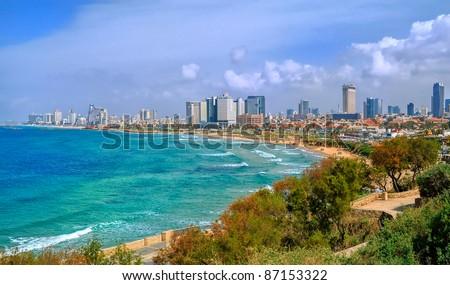 Tel Aviv, Israel - stock photo