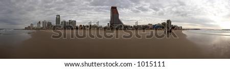 Tel-Aviv panorama - stock photo