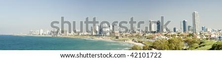 Tel Aviv Panorama - stock photo