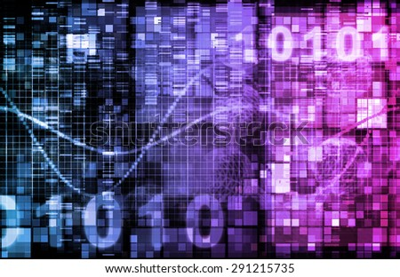 Telecommunications Technology Infrastructure as a Art Concept background - stock photo