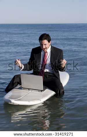 Telecommuting - stock photo