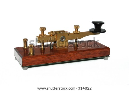 Telegraph Key - stock photo