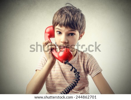 Telephone call - stock photo