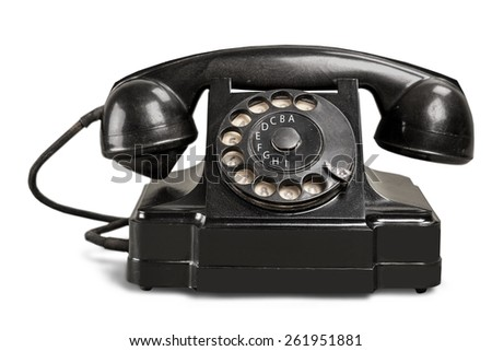 Telephone, Retro Revival, Old-fashioned.