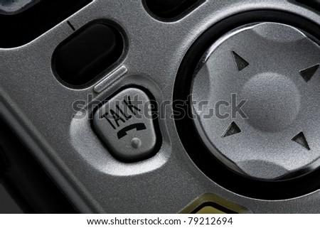 Telephone talk button - stock photo
