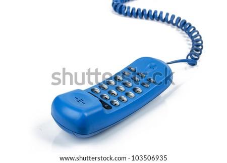 Telephone wire - stock photo