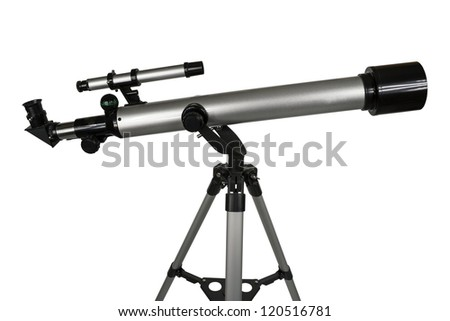 telescope - stock photo