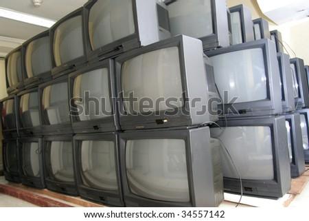 television - stock photo