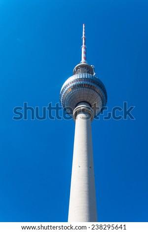 Television Tower  (Fernsehturm), Berlin, Germany - stock photo