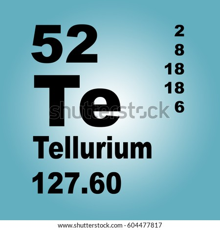 Tellurium periodic table elements stock illustration 604477817 tellurium periodic table of elements urtaz Image collections