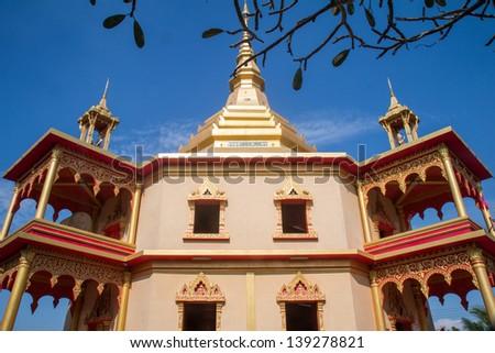 Tempels of Luang Prabang Laos - stock photo