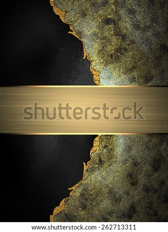 Template for design. Abstract grunge texture with black background