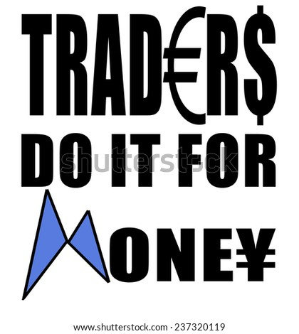 Template for t-shirt print related to stock trading. - stock photo