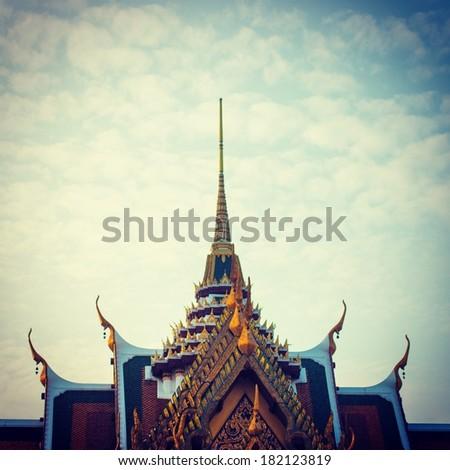 Temple Bangkok Thailand - stock photo