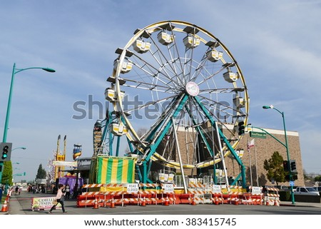 Temple City Feb 28 2016 - Funs and rides in Temple City, Camellia Festival