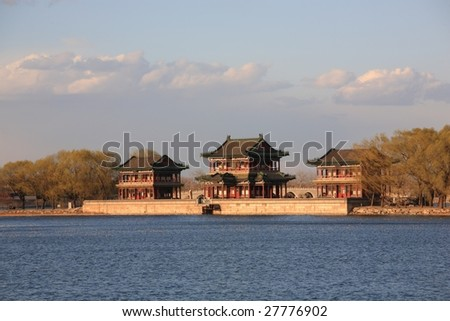 temple in the summer palace,beijing