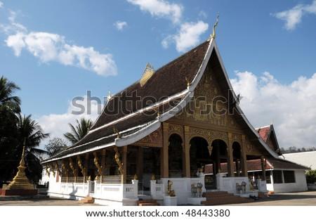 Temple, Luang Prabang - stock photo