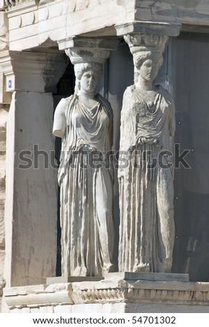 Temple of Athena Nike, Acropolis, Athens - stock photo