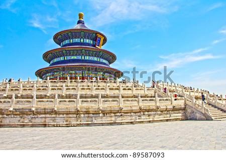 Temple of Heaven, Beijing, China - stock photo