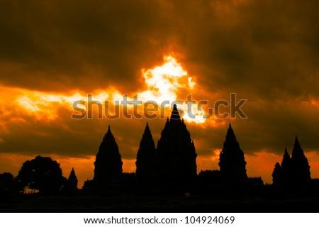 temple of hindu - stock photo