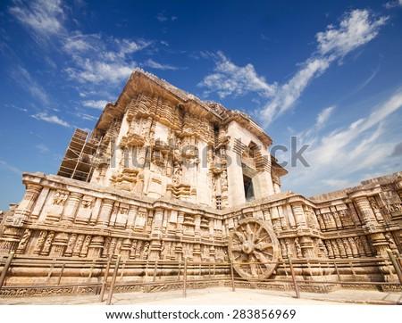 temple of the sun, Konark  - stock photo