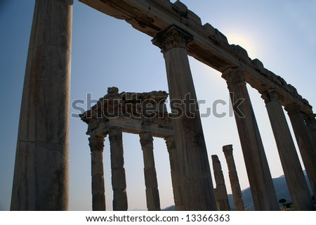Temple of Trajan, Pergamon Turkey