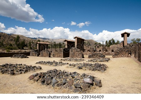 Temple of Wiracocha - Raqchi - Peru