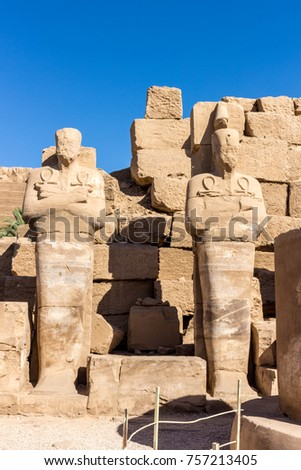 Temples and monuments in Egypt