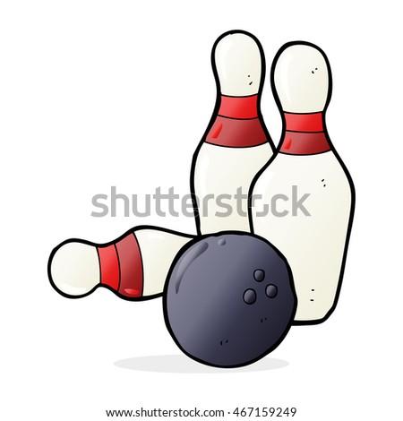 Very bowling cartoon pin spank pity, that
