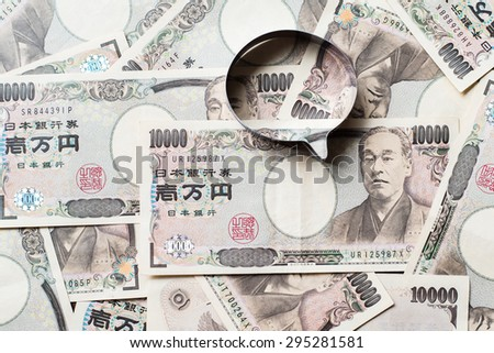 Ten thousands japanese yen speaker