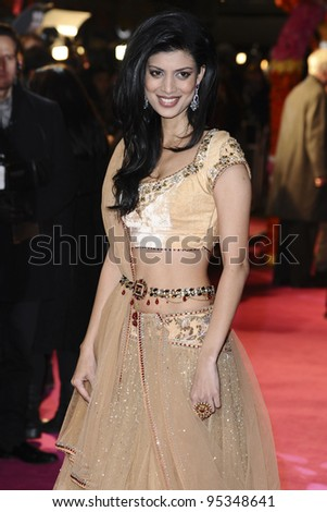 "Tena Desae arrives for th arriving for the premiere of ""The Best Exotic Marigold Hotel"" at the Curzon Mayfair cinema, London. 07/02/2012 Picture by: Steve Vas / Featureflash"
