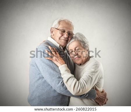 Tender love  - stock photo