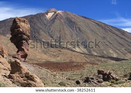 Tenerife National Park - stock photo