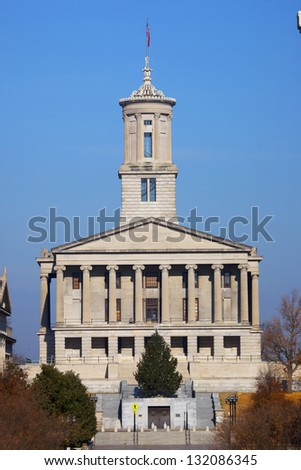 Tennessee State Capitol in Nashville - stock photo