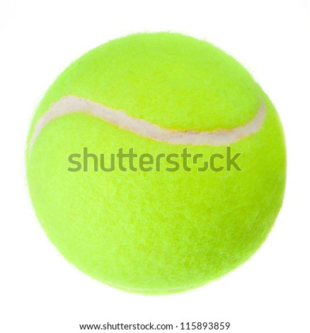 Tennis ball. the new. - stock photo