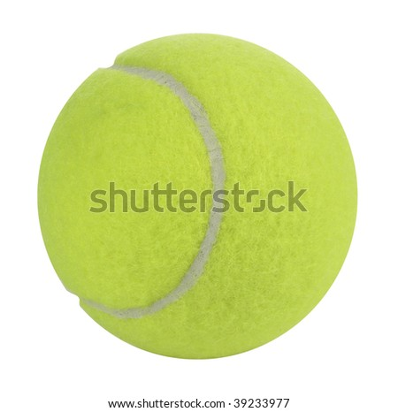 Tennis Ball with Path