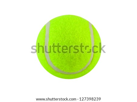 Tennis balls Used for training. - stock photo