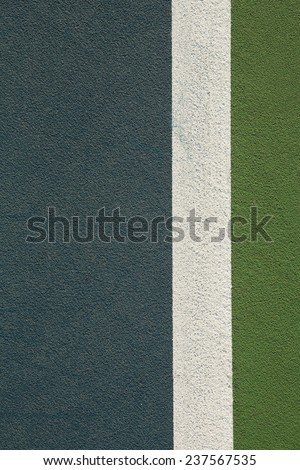 Tennis Court Background with room for Copy Space - stock photo