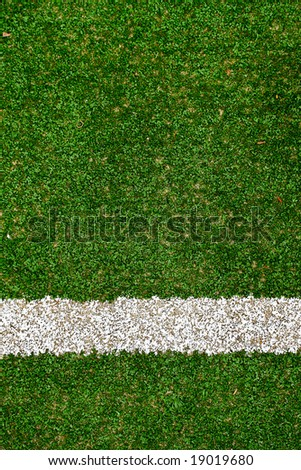 tennis court texture with stripe - stock photo