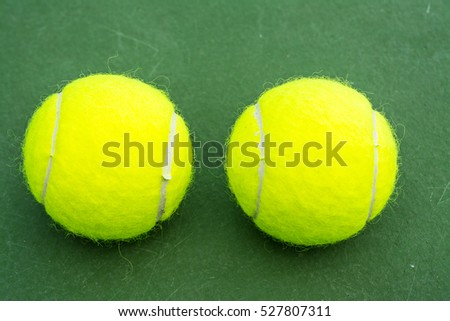 Tennis is a racket sport that can be played by single or doubles players.