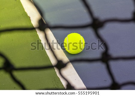 Tennis is a racket sport. The object of the game is to play the ball in such a way that the opponent is not able to play a valid return.