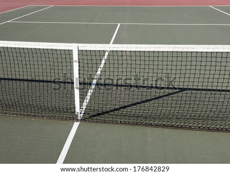 Tennis Lines - stock photo