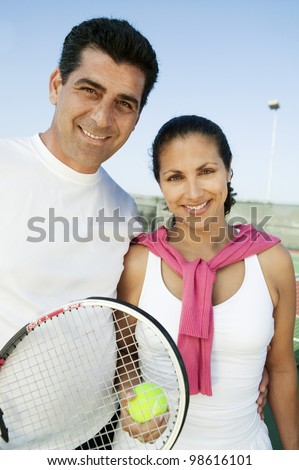 Tennis Players - stock photo