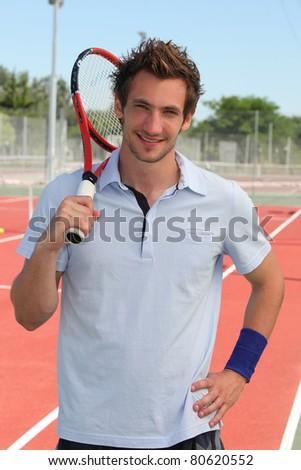 Tennisman - stock photo