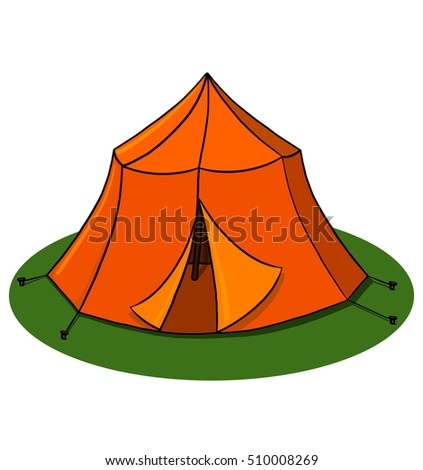 Tent illustration