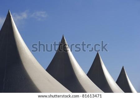 tents - stock photo