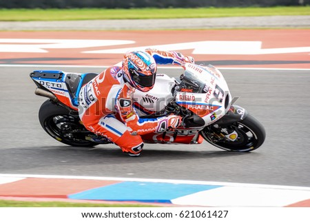 Termas De Rio Hondo Argentna April   Motogp Rider Danilo Petrucci