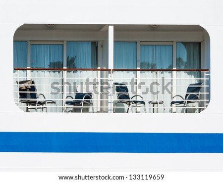 Stock images similar to id 3104794 a closeup window of a for First class cruise ship cabins